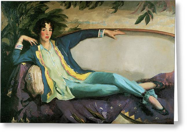 Gertrude Vanderbilt Whitney Greeting Card