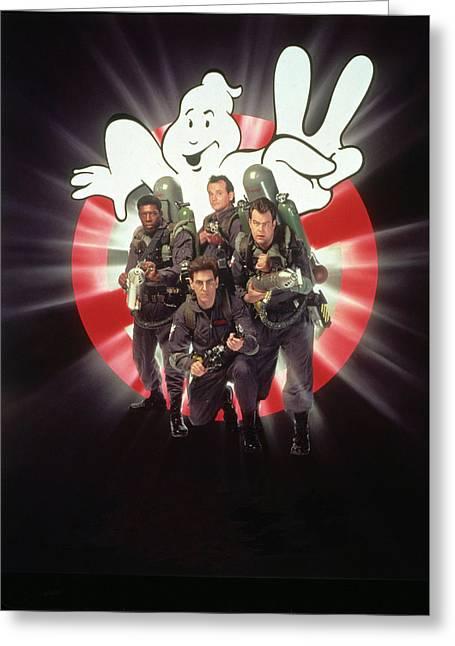 Ghostbusters II 1989  Greeting Card