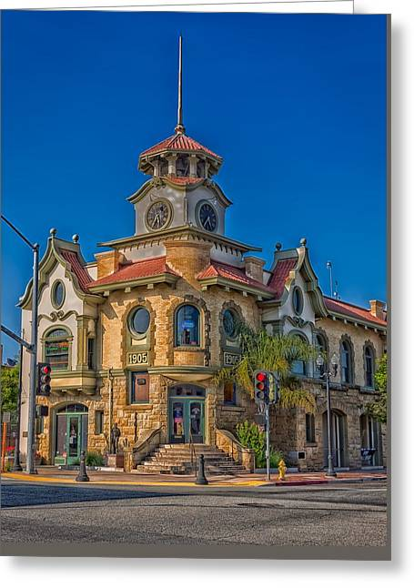 Gilroy's Old City Hall Greeting Card by Mountain Dreams