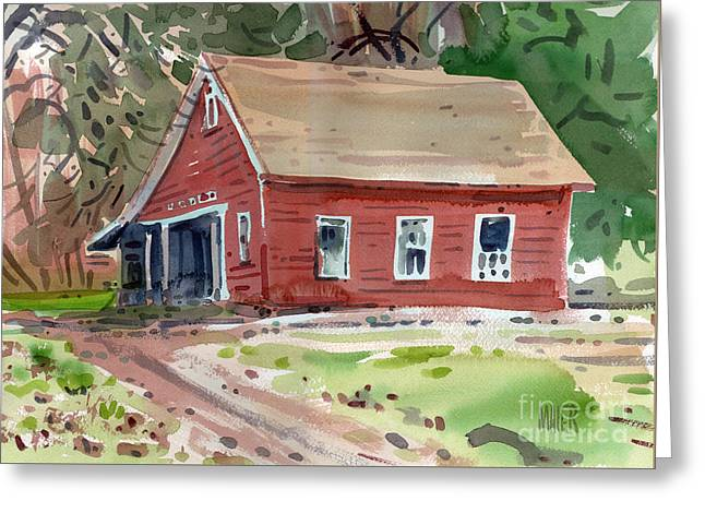 Glenbrook Carriage House Greeting Card