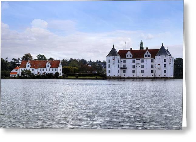 Gluecksburg Castle - Germany Greeting Card by Joana Kruse