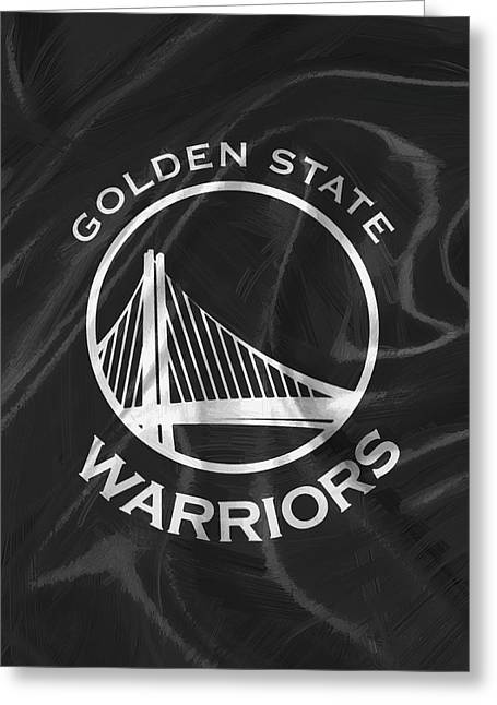 Golden State Warriors Greeting Card by Afterdarkness