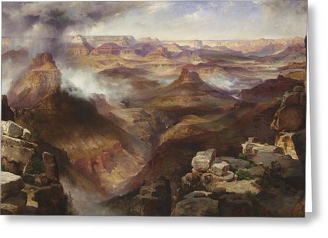 Grand Canyon Of The Colorado River Greeting Card