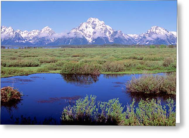 Grand Teton Park, Wyoming, Usa Greeting Card by Panoramic Images
