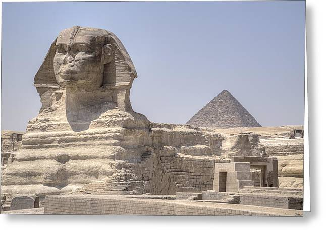 Great Sphinx Of Giza - Egypt Greeting Card