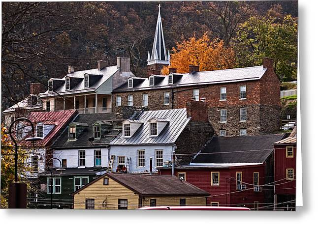 Harper's Ferry Greeting Card by Jim Archer