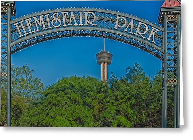 Hemisfair Park - San Antonio Greeting Card