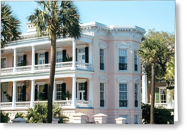 Historic Houses In A City, Charleston Greeting Card