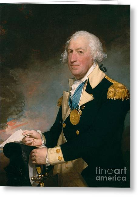 Horatio Gates Greeting Card