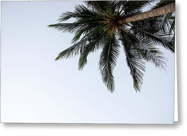Huahin  Sand Beach Paradase View From Monkey Mountain Greeting Card