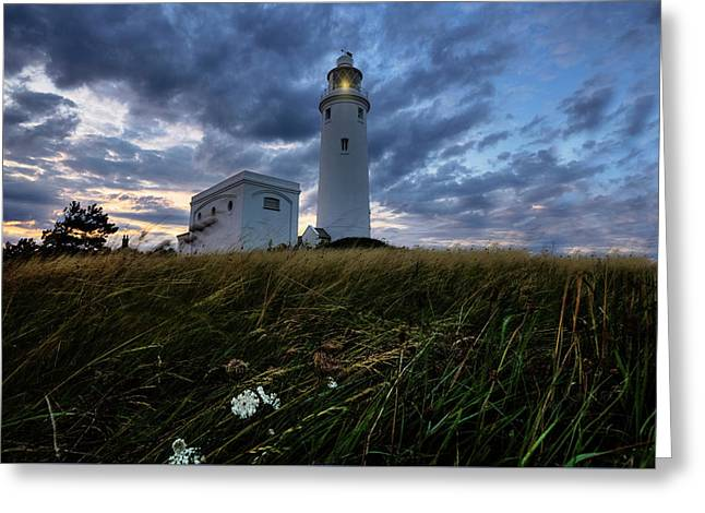 Hurst Point Lighthouse - England Greeting Card