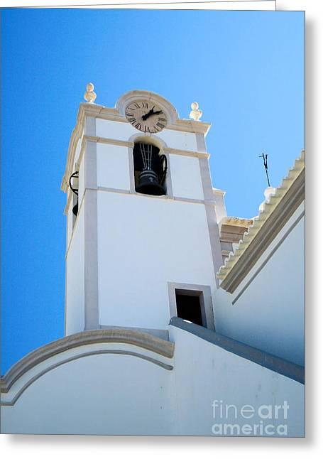Igreja De Sao Lourenco Dos Matos Greeting Card by Carl Whitfield