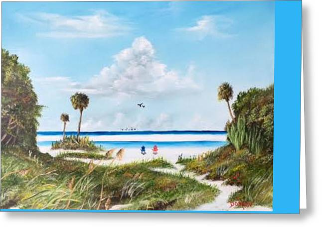 In Paradise Greeting Card