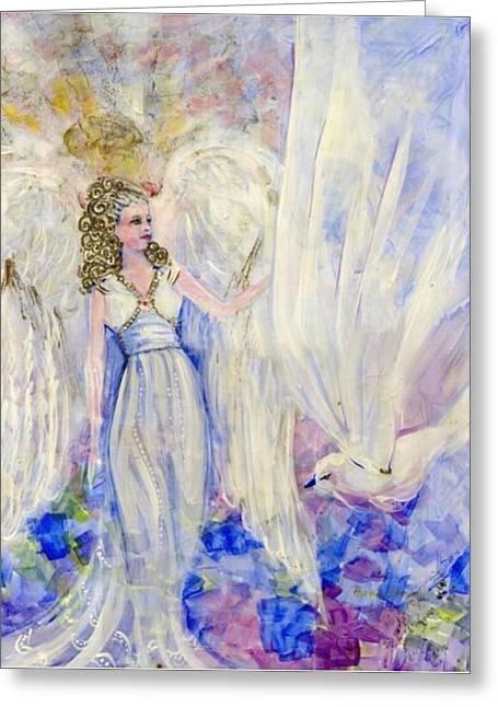 Inspiration Greeting Card by Rosemary Babikan