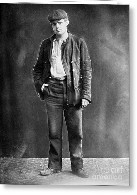 Jack London (1876-1916) Greeting Card by Granger
