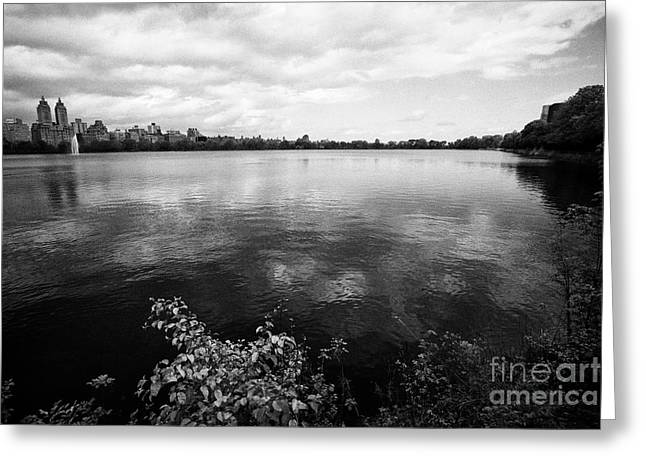 jacqueline kennedy onassis reservoir central park New York City USA Greeting Card