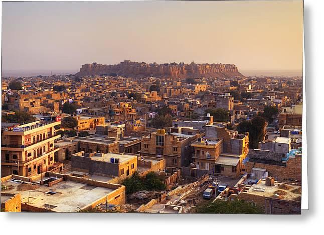 Jaisalmer - India Greeting Card by Joana Kruse