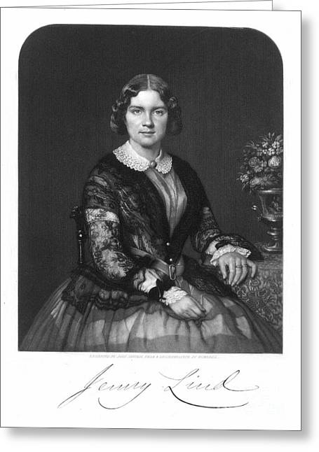 Jenny Lind (1820-1887) Greeting Card