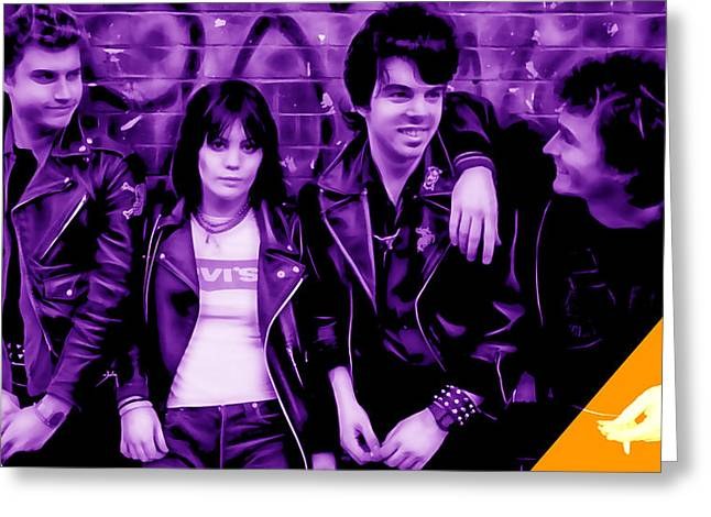 Joan Jett And The Blackhearts Collection Greeting Card