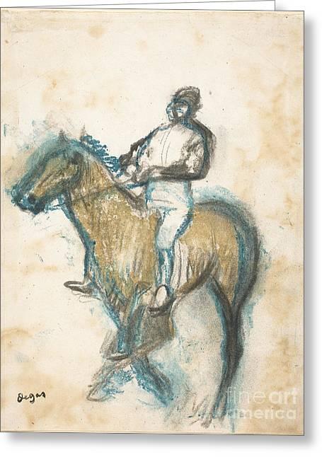 Jockey Greeting Card