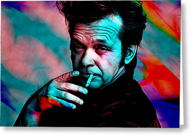 John Mellencamp Collection Greeting Card