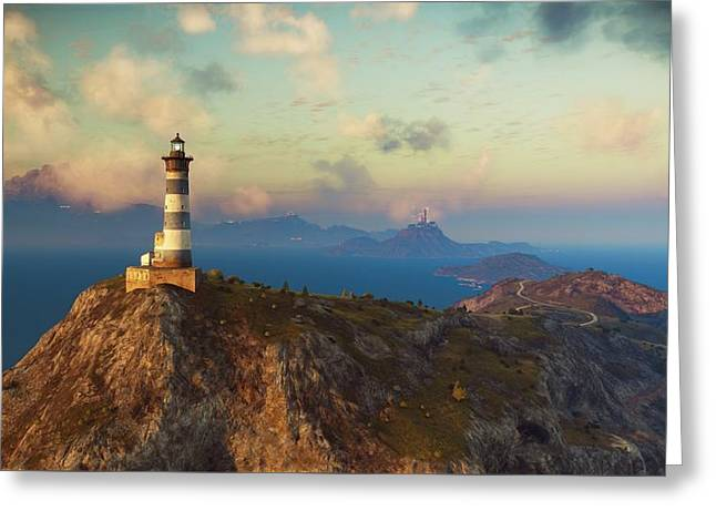 Just Cause 3 Scenery                   Greeting Card by F S