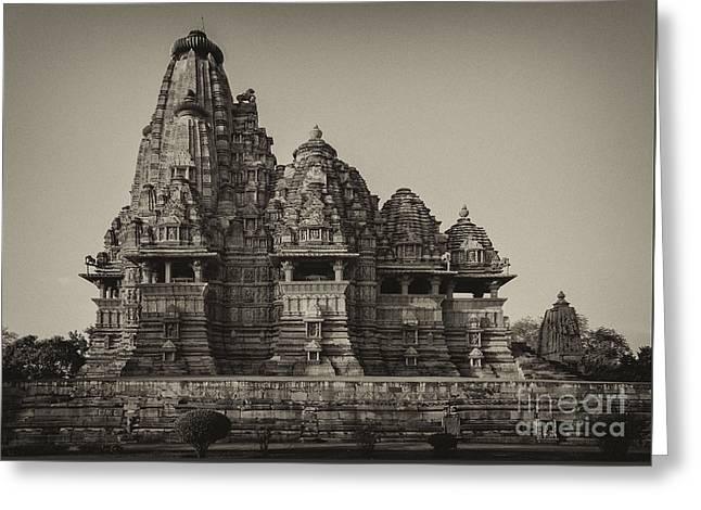 Kandariya Mahadeva Temple Greeting Card