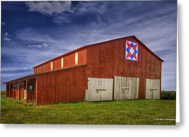 Kentucky Quilt Barn Greeting Card