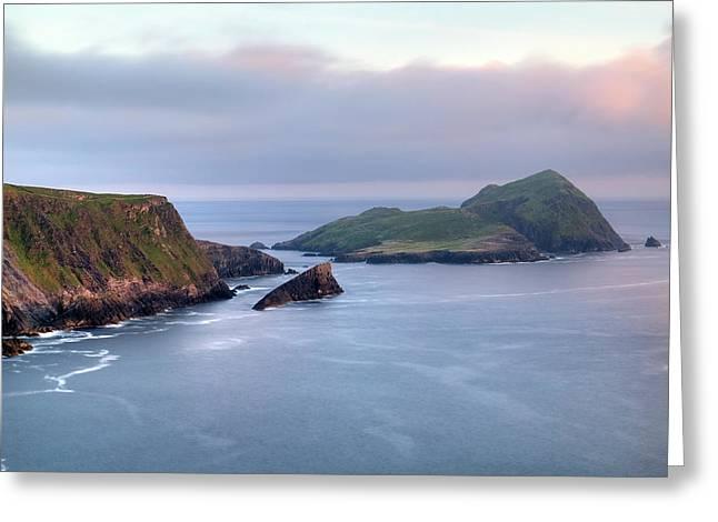 Kerry Cliffs - Ireland Greeting Card by Joana Kruse