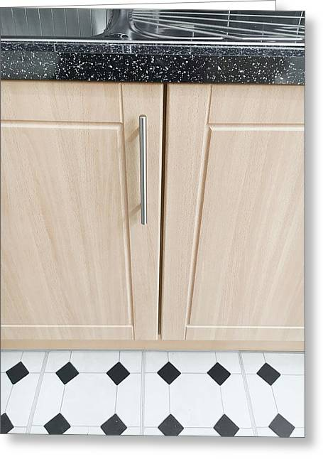 Kitchen Cupboards Greeting Card