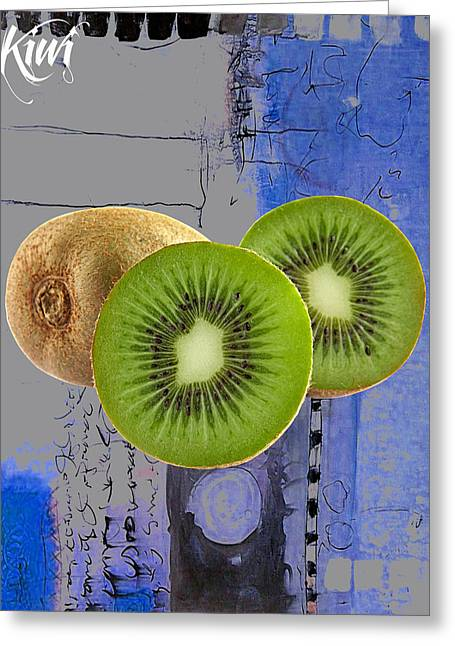 Kiwi Collection Greeting Card by Marvin Blaine