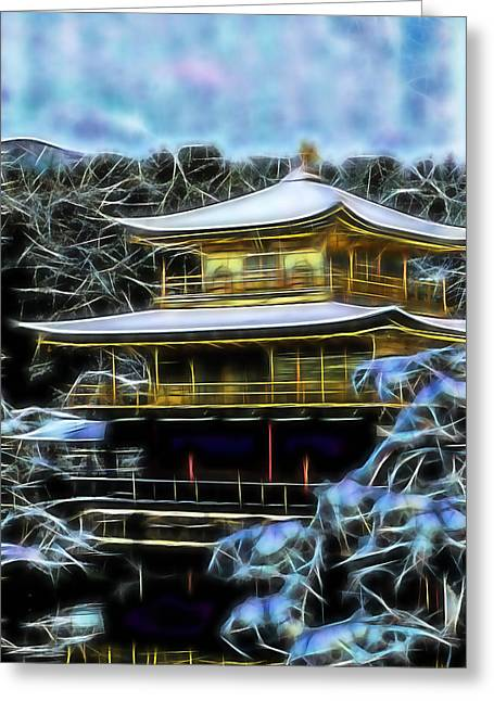 Kyoto Temple Collection Greeting Card by Martial Arts  Fine Art