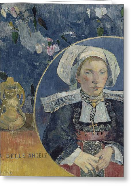 La Belle Angele Greeting Card