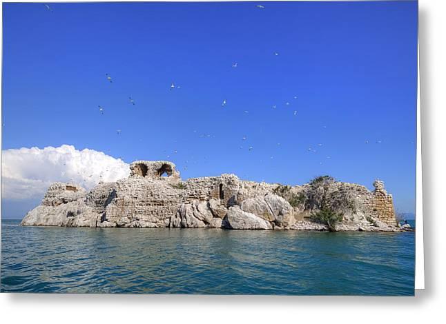 Lake Beysehir - Turkey Greeting Card