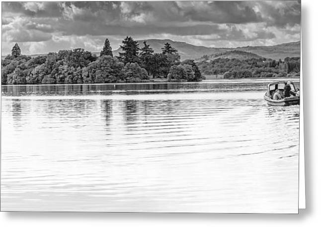 Lake Of Menteith Greeting Card