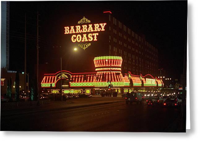 Las Vegas 1980 #5   Greeting Card