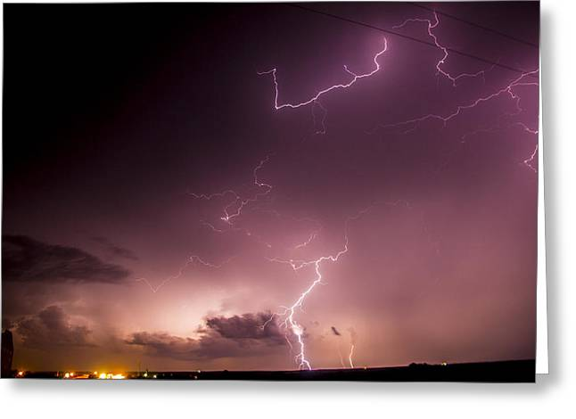 Late July Storm Chasing 057 Greeting Card