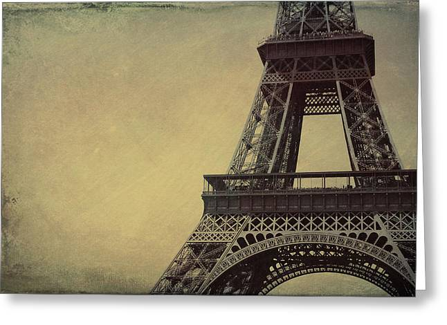 Le Jules Vernes Grunge Greeting Card by JAMART Photography