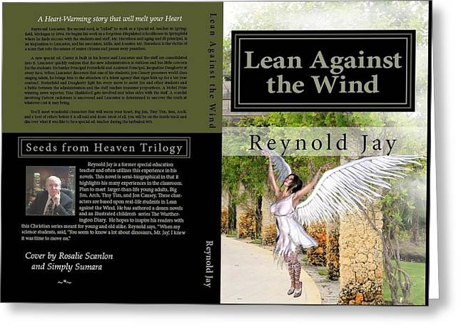 Lean Against The Wind Greeting Card