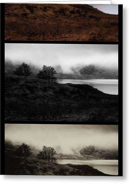 Greeting Card featuring the photograph Loch Arklet by Jeremy Lavender Photography