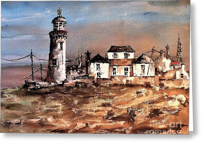 Loophead Lighthouse, Clare....vb708 Greeting Card