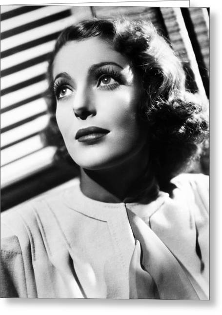 1936 Movies Greeting Cards - Loretta Young (1913-2000) Greeting Card by Granger