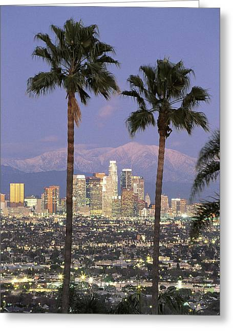 Los Angeles Ca Greeting Card