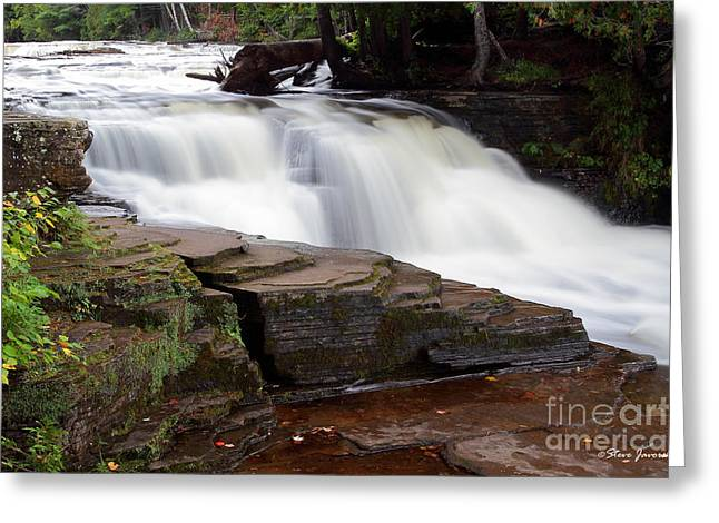 Lower Tahquamenon Falls Area Greeting Card