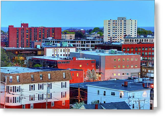 Lynn, Massachusetts Greeting Card by Denis Tangney Jr