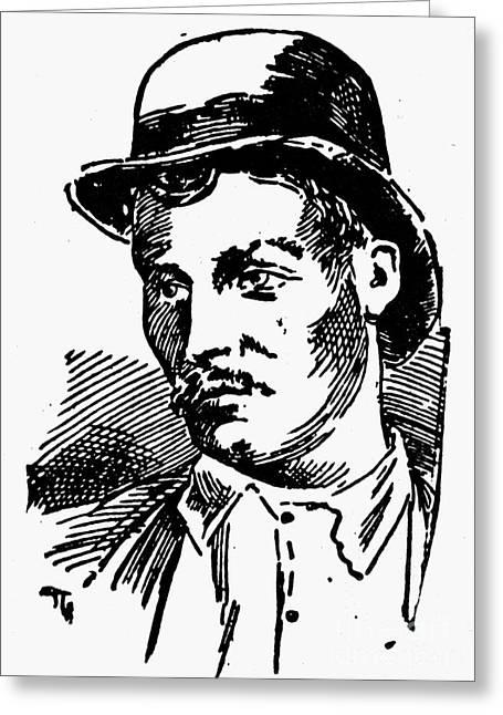 Mafia, 1891 Greeting Card by Granger