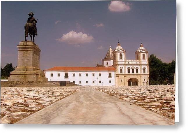 Mafra Portugal Greeting Card by Paul James Bannerman