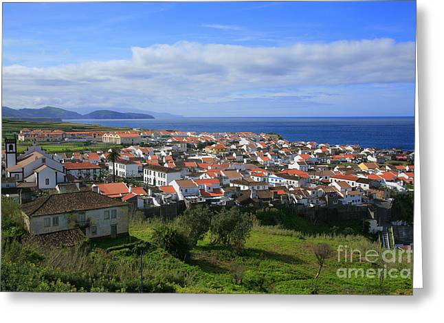 Maia - Azores Islands Greeting Card by Gaspar Avila
