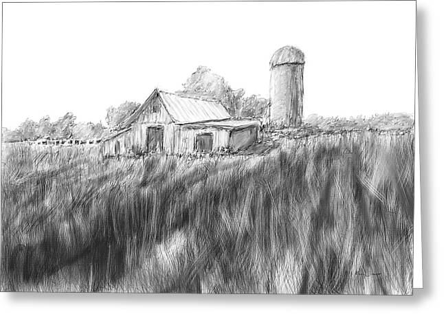 Making Hay Greeting Card by Barry Jones