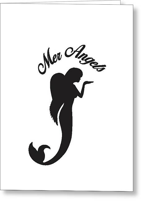 Malibu Mer Angels Greeting Card